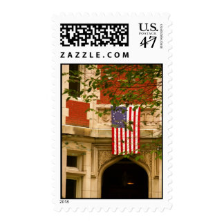 U. S. Flag in Beacon Hill Postage