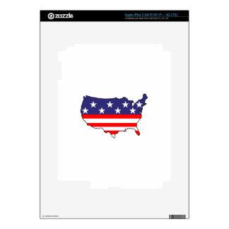 U. S. Flag iPad 3 Skin