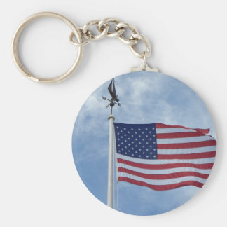 U.S. flag keychain
