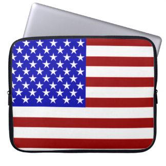U.S. Flag Laptop Sleeve