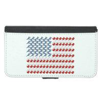 U.S. Flag of Birds Galaxy S5 Wallet Case