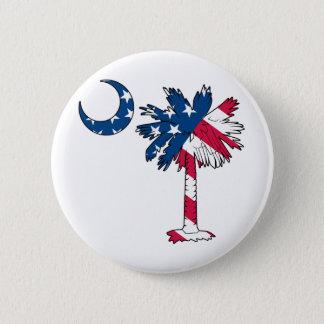 U.S. Flag Palmetto Button