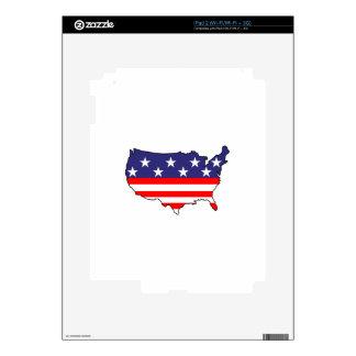 U. S. Flag iPad 2 Decal