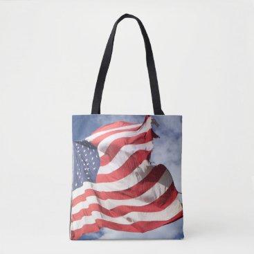 USA Themed U.S. Flag Tote