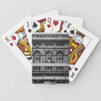 U. S. Food Administration sign_War image Poker Cards