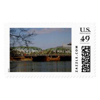 U.S. Franqueo - Trenton hace el puente Estampilla