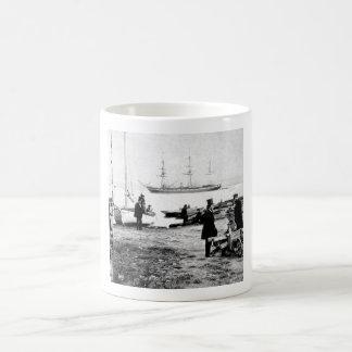 U.S. Frigate Pensacola_War Image Coffee Mug