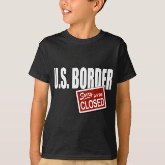 U.S. Frontera - triste somos cerrados Playera