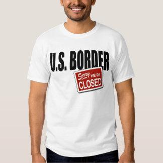 U.S. Frontera - triste somos cerrados Remeras