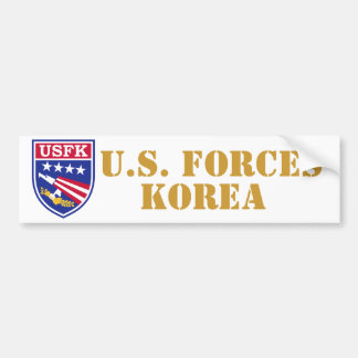 U.S. Fuerzas Corea - pegatina para el parachoques Pegatina Para Auto