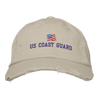 U.S. Gorra bordado del guardacostas Gorra Bordada