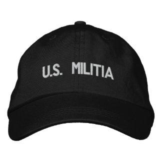 u s gorra bordado milicia gorra de beisbol