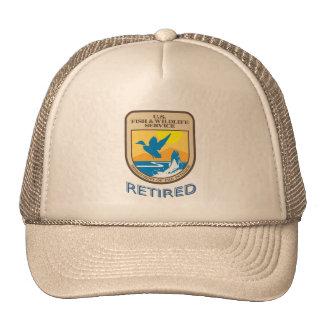 U.S. Gorra jubilado dirección de pesca y fauna sil