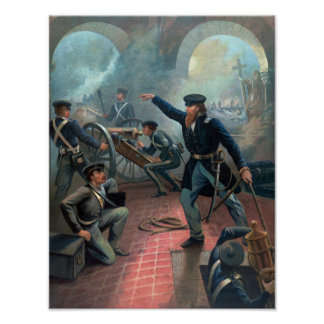 U.S. Grant At The Capture Of The City Of Mexico Poster