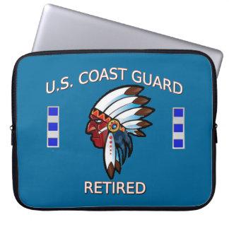 U.S. Guardacostas CWO-4 jubilado Funda Computadora