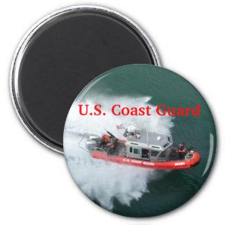 U.S. Guardacostas Imán Redondo 5 Cm