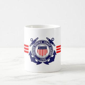 U.S. Guardacostas Tazas