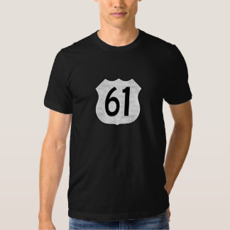 U.S. Highway 61 Route Sign Tee Shirt