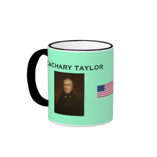 U S History PRESIDENT Zachary Taylor Coffee Mug