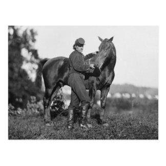 U.S. Horse Artillery, 1863 Postcard