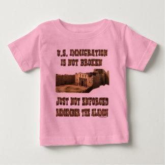 U.S. Immigration - Not Broken Just Not Enforced Tee Shirt