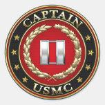 U.S. Infantes de marina: Captain (capitán) del Etiqueta Redonda