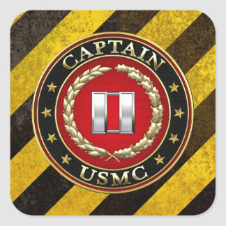 U.S. Infantes de marina: Captain (capitán) del Colcomania Cuadrada