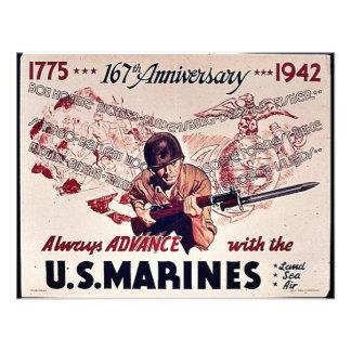 U S Infantes de marina Comunicados Personalizados
