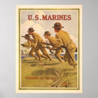 U.S. Infantes de marina Poster