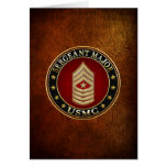 U.S. Infantes de marina: Sargento comandante (USMC Felicitación
