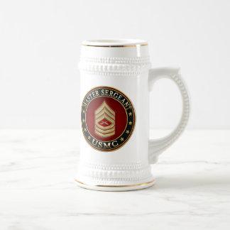 U.S. Infantes de marina: Sargento mayor (USMC MSgt Tazas De Café