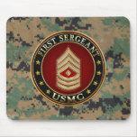 U.S. Infantes de marina: Sargento (USMC 1stSgt) [3 Alfombrilla De Ratones