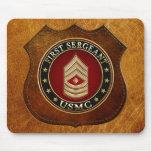 U.S. Infantes de marina: Sargento (USMC 1stSgt) [3 Alfombrilla De Ratón