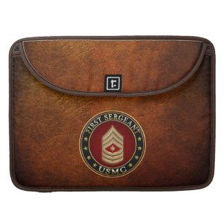 U.S. Infantes de marina: Sargento (USMC 1stSgt) Fundas Para Macbooks