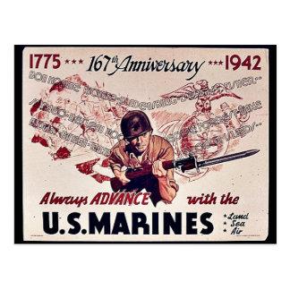 U S Infantes de marina Postal