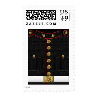 U.S. Infantes de marina: Uniforme de vestido del Sello