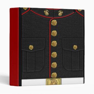 """U.S. Infantes de marina: Uniforme de vestido del U Carpeta 1"""""""