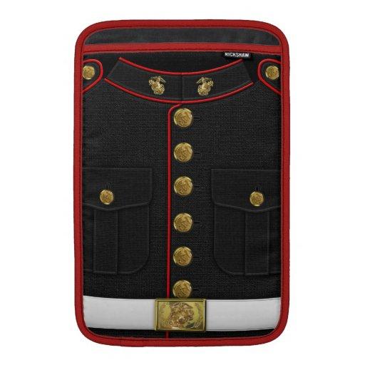 U.S. Infantes de marina: Uniforme de vestido del U Fundas Macbook Air