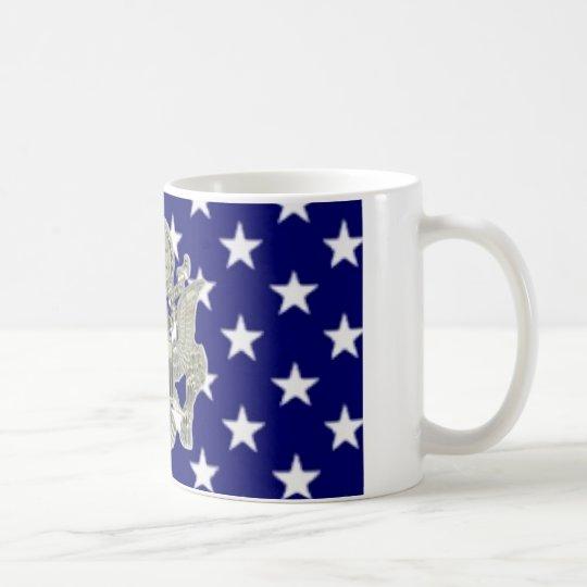 u.s. insignias militares taza de café