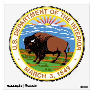 U.S. Interior Department Wall Decal