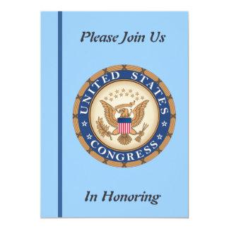 U.S. Invitación del retiro del congreso