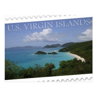 U.S. Islas Vírgenes - bahía del tronco de San Juan Tarjetas Postales
