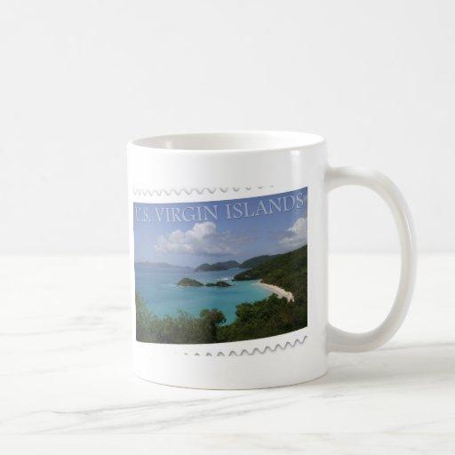U.S. Islas Vírgenes - bahía del tronco de San Juan Tazas De Café
