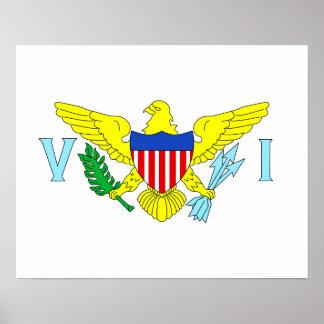 U.S. Islas Vírgenes Póster
