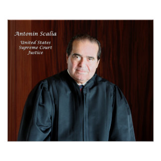 U.S. Juez del Tribunal Supremo Antonin Scalia Impresiones
