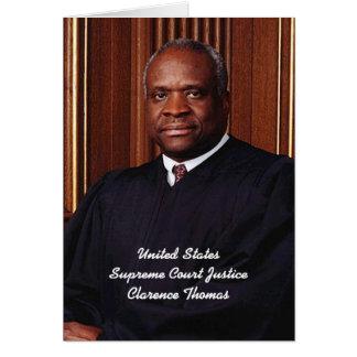 U.S. Justicia suprema Clarence Thomas Tarjeta De Felicitación