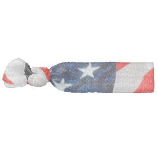 U.S. Lazo del pelo de la bandera Elástico Para El Pelo