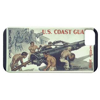 U.S. ~ listo del ~ del guardacostas entonces listo iPhone 5 Funda