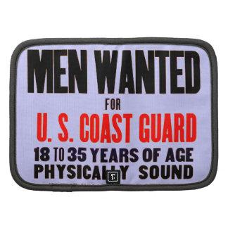 U.S. Los hombres del guardacostas quisieron 1914 m Planificador