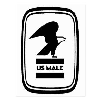 U.S. MALE POSTCARD